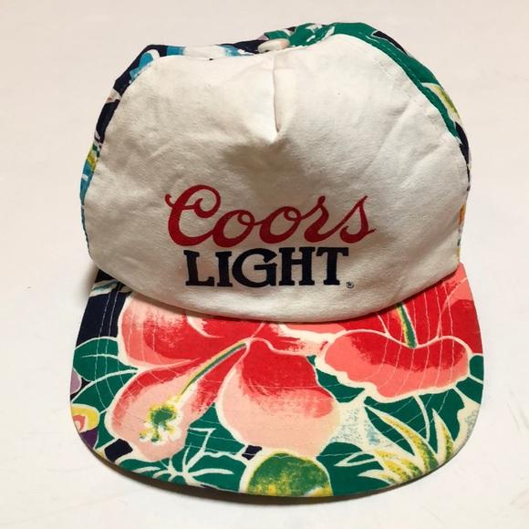 675e1f6c McDowell Ent. Inc. Accessories | 90s Vintage Coors Light Hawaiian ...